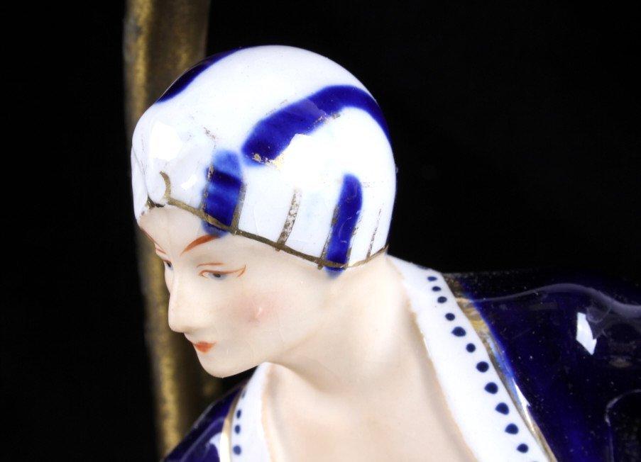 Art Deco Dancing Figures Lamps - 4
