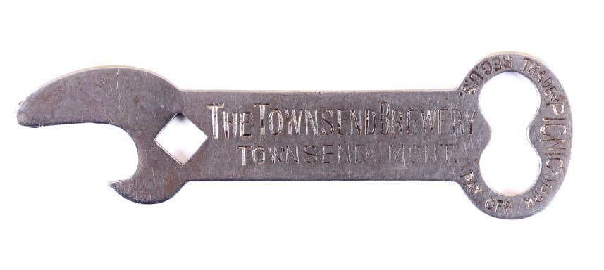 Townsend Brewery Pre-Prohibition Bottle Opener MT