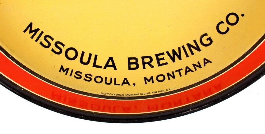 Missoula Brewing Co. Highlander Beer Tray Montana - 5