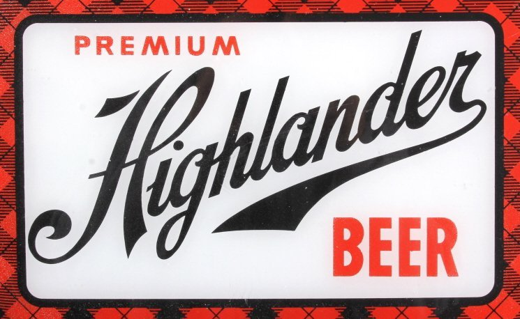 Highlander Beer Advertising Thermometer Montana - 2