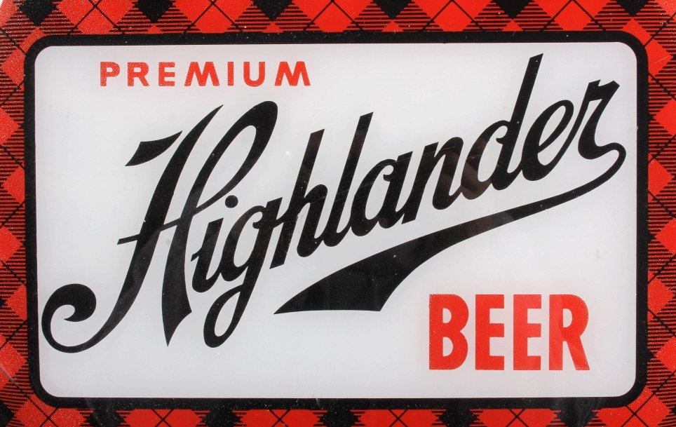 Highlander Beer Advertising Thermometer Montana - 5