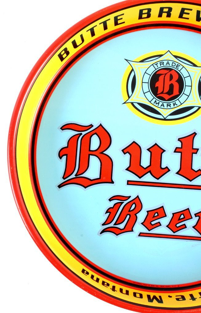 Butte Brewing Co. Beer Tray from Montana - 10