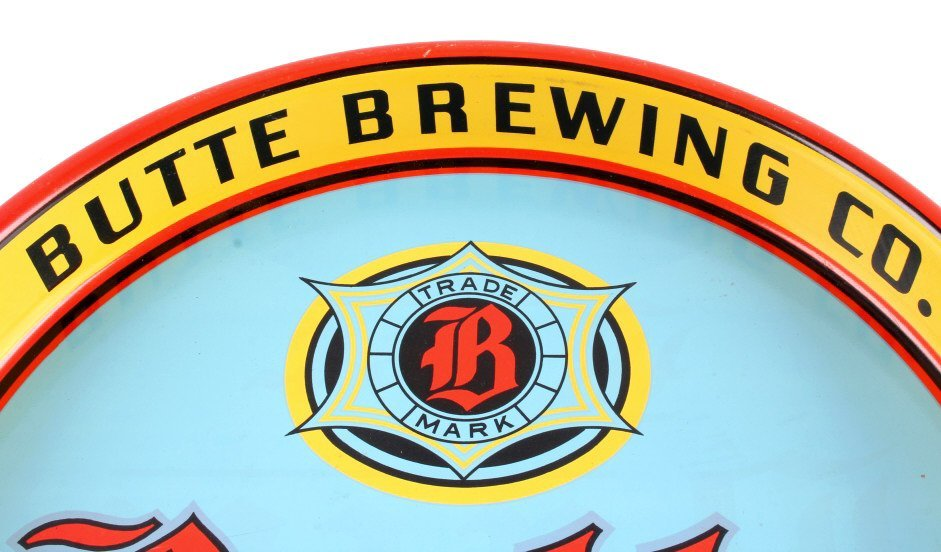Butte Brewing Co. Beer Tray from Montana - 2