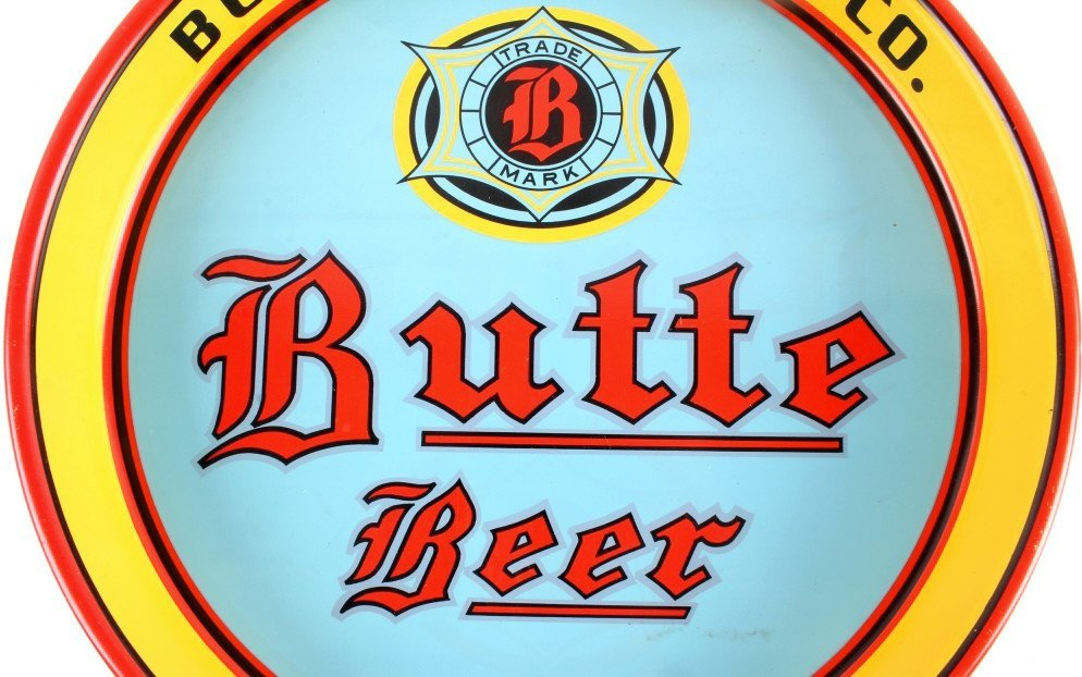 Butte Brewing Co. Beer Tray from Montana - 4