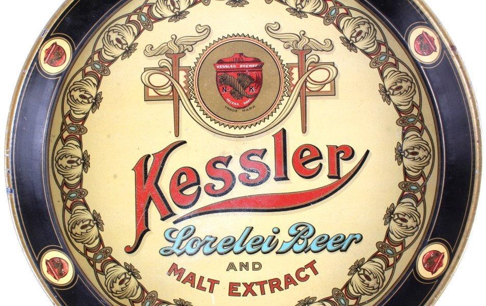 Kessler Lorelei Beer & Malt Extract Tray Helena MT - 2