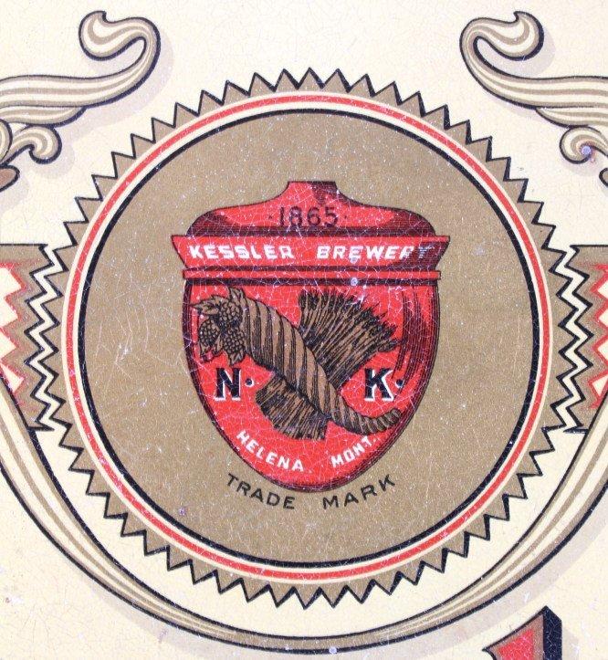 Kessler Lorelei Beer & Malt Extract Tray Helena MT - 4