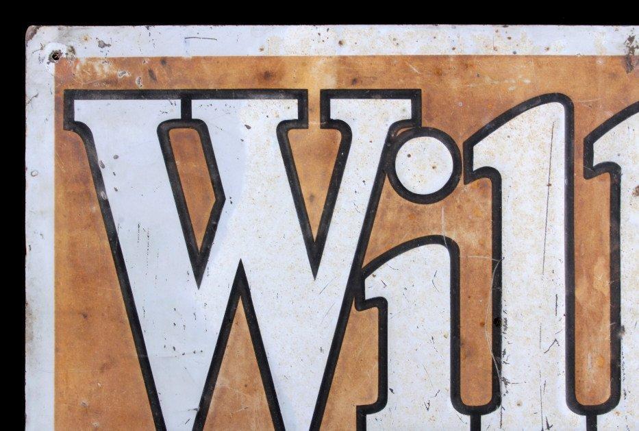 Willard Storage Battery Sign Anaconda Montana - 3