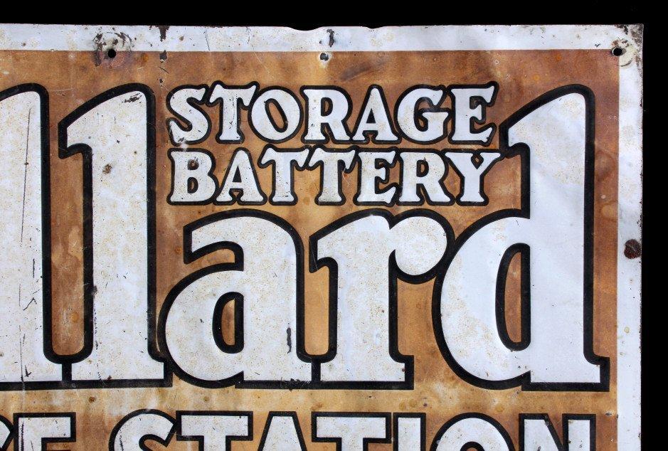 Willard Storage Battery Sign Anaconda Montana - 4