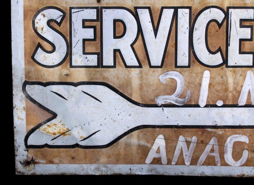 Willard Storage Battery Sign Anaconda Montana - 5