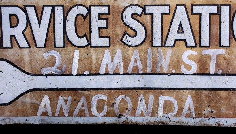 Willard Storage Battery Sign Anaconda Montana - 6