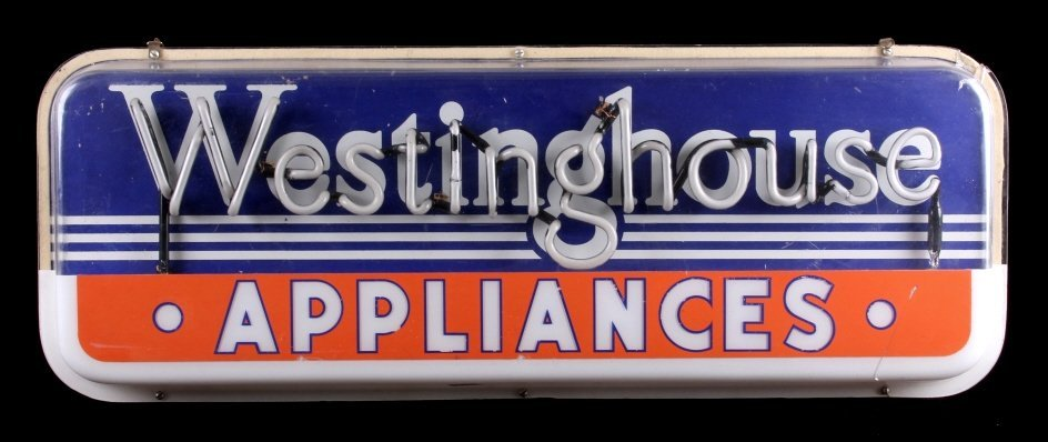 Westinghouse Appliances Neon Advertising Sign