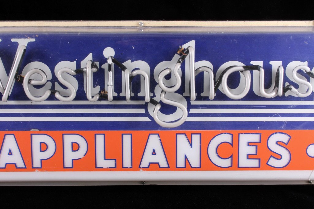 Westinghouse Appliances Neon Advertising Sign - 3