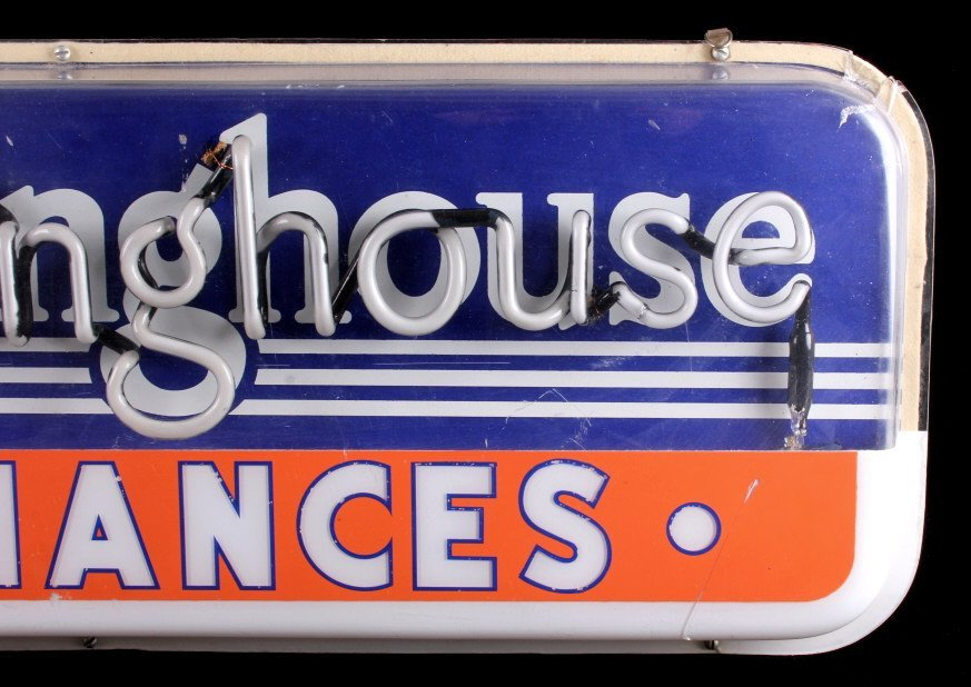 Westinghouse Appliances Neon Advertising Sign - 4