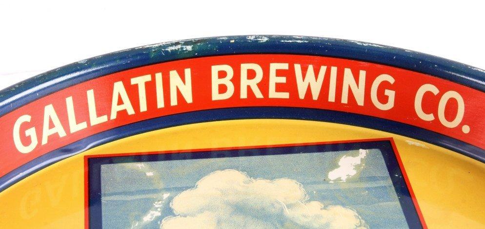 Gallatin Brewing Co. Bozeman Montana Beer Tray - 3