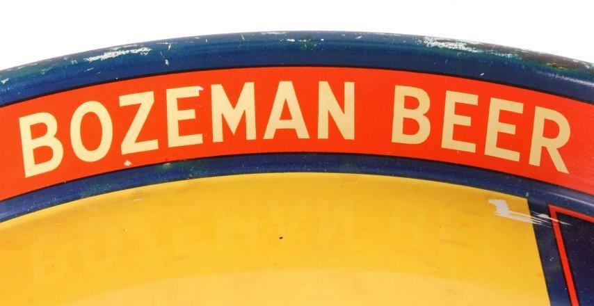 Gallatin Brewing Co. Bozeman Montana Beer Tray - 4