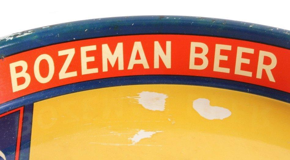 Gallatin Brewing Co. Bozeman Montana Beer Tray - 5