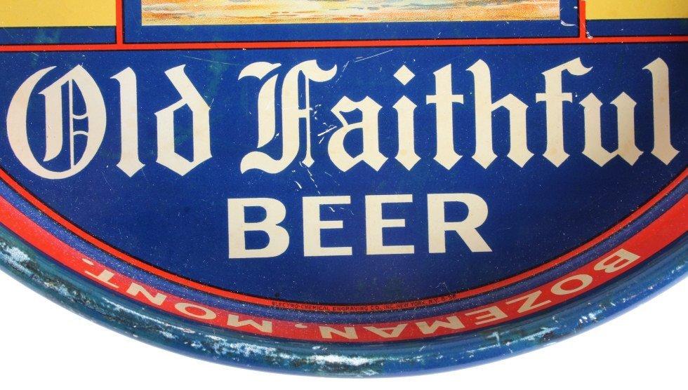 Gallatin Brewing Co. Bozeman Montana Beer Tray - 6