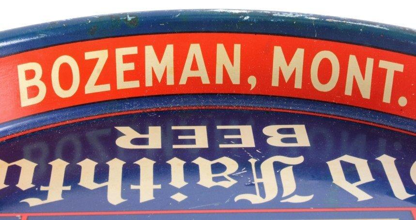 Gallatin Brewing Co. Bozeman Montana Beer Tray - 7