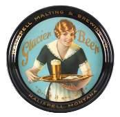 RARE Glacier Beer Tray from Kalispell Montana
