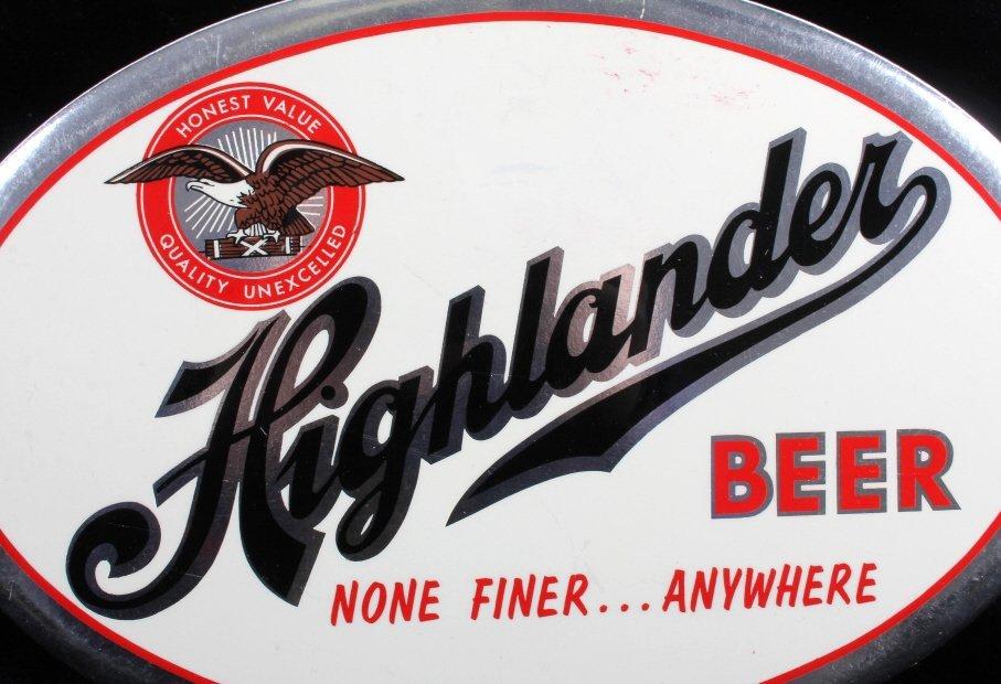 Highlander Beer Advertising Sign Missoula Montana - 3