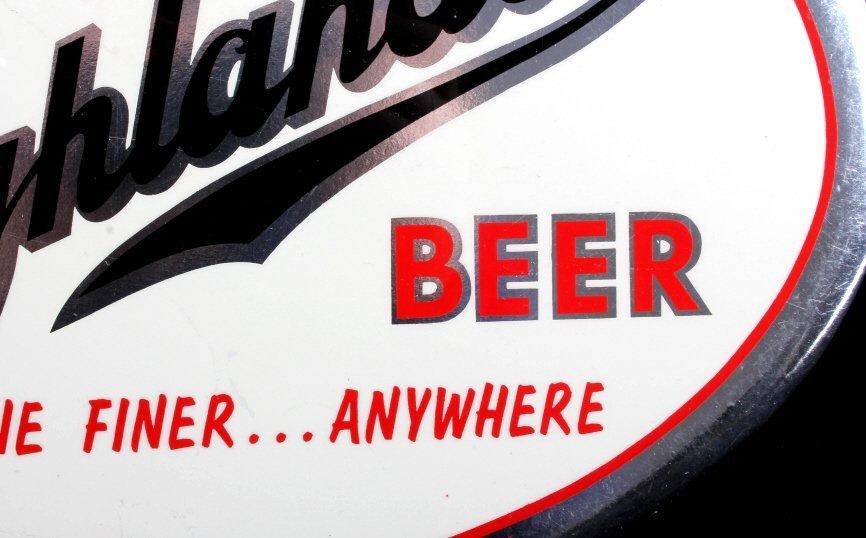 Highlander Beer Advertising Sign Missoula Montana - 4