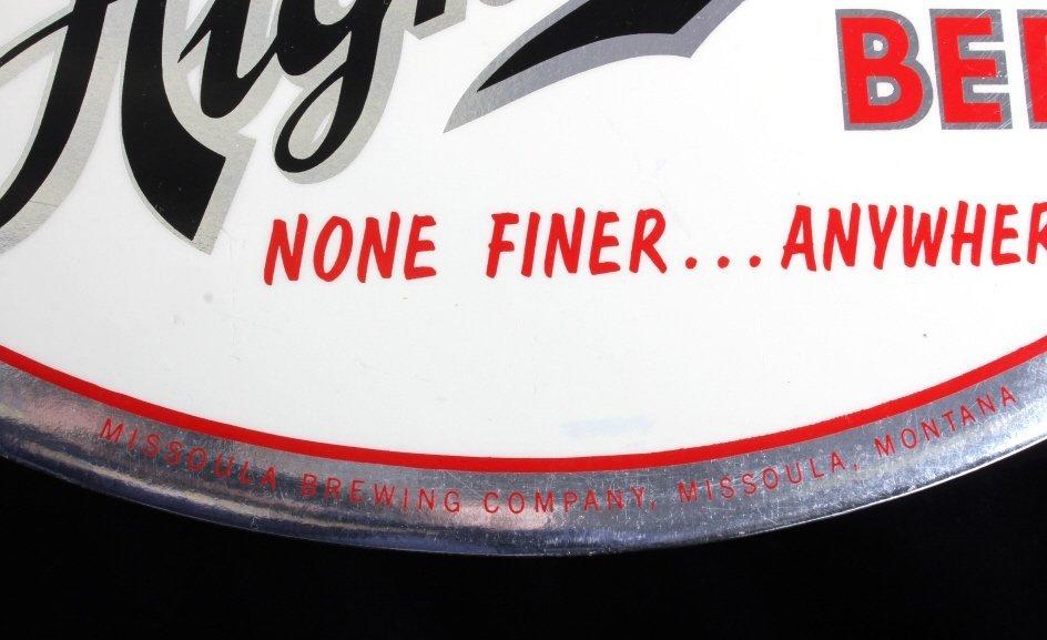 Highlander Beer Advertising Sign Missoula Montana - 5