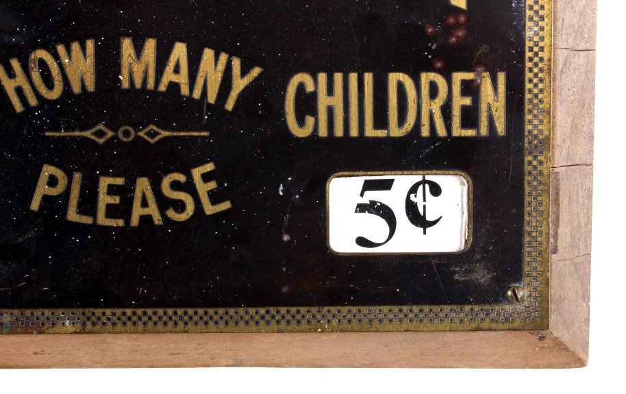 Theatre Admission Sign from Butte Montana - 5