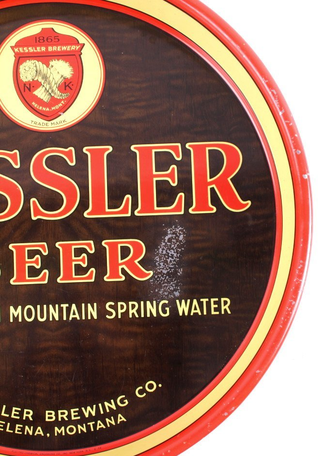 Kessler Brewing Co. Beer Tray from Helena Montana - 10