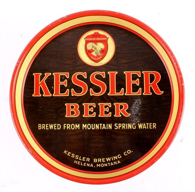 Kessler Brewing Co. Beer Tray from Helena Montana