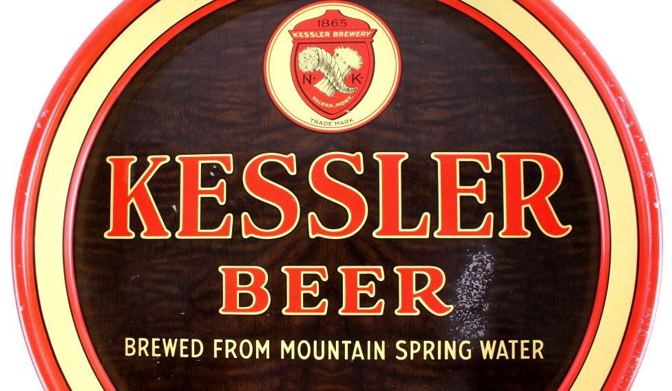 Kessler Brewing Co. Beer Tray from Helena Montana - 3