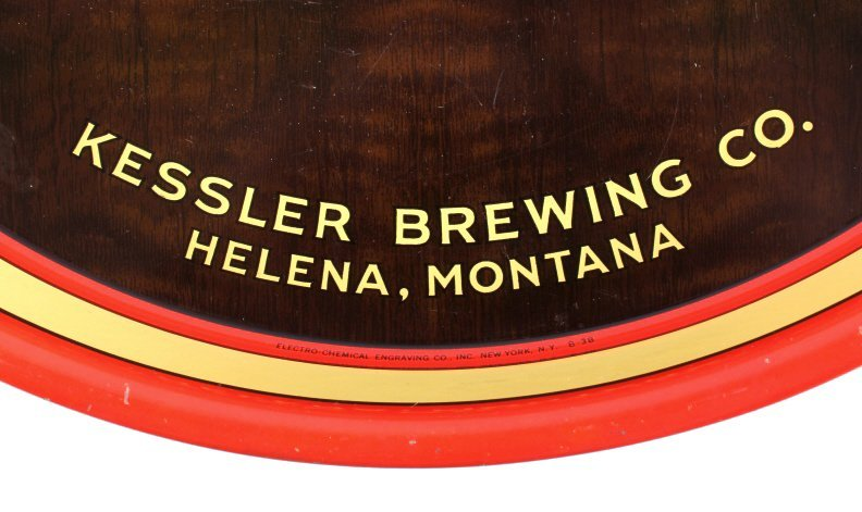 Kessler Brewing Co. Beer Tray from Helena Montana - 4