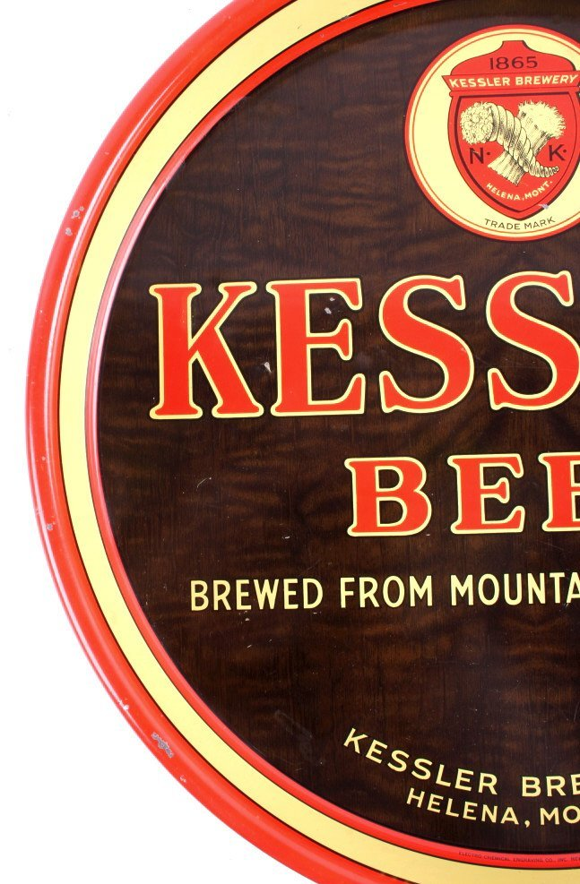 Kessler Brewing Co. Beer Tray from Helena Montana - 9
