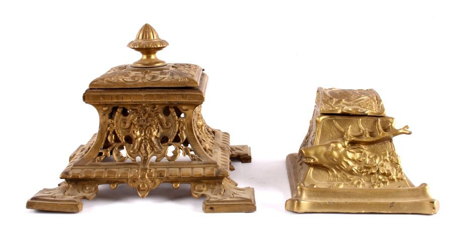 Antique Inkwell Collection