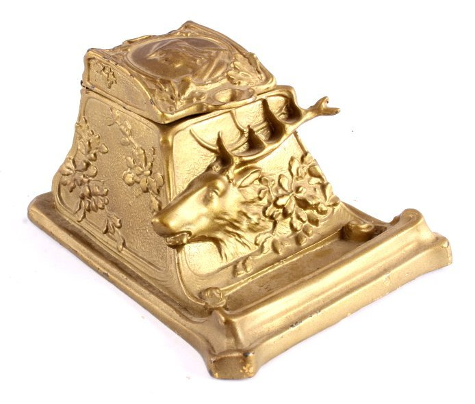 Antique Inkwell Collection - 8