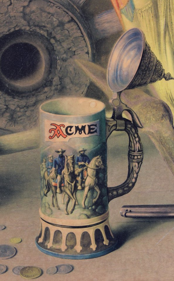 Acme Beer Framed Advertising Print - 5