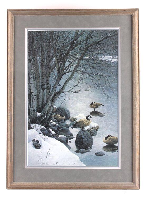 Stephen Lyman Framed Print