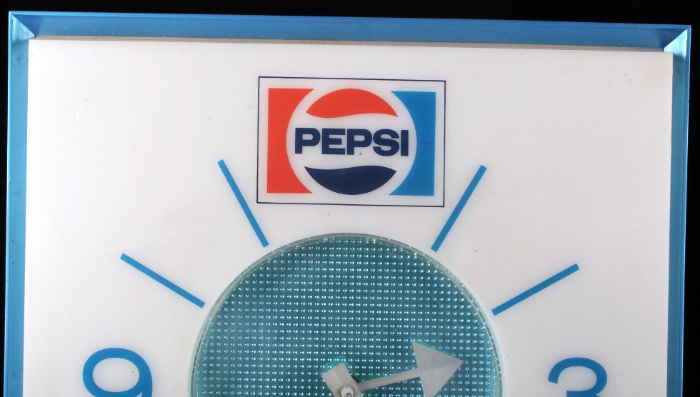 New Old Stock Lighted Pepsi-Cola Wall Clock - 2