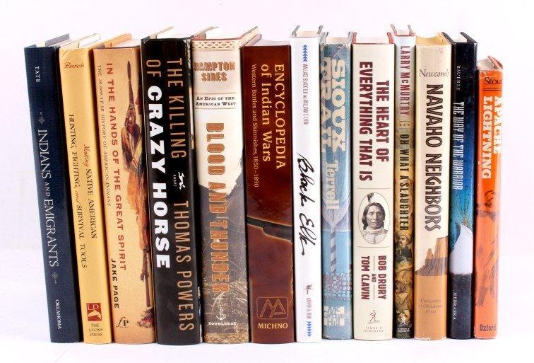Native American Hardback Book Collection
