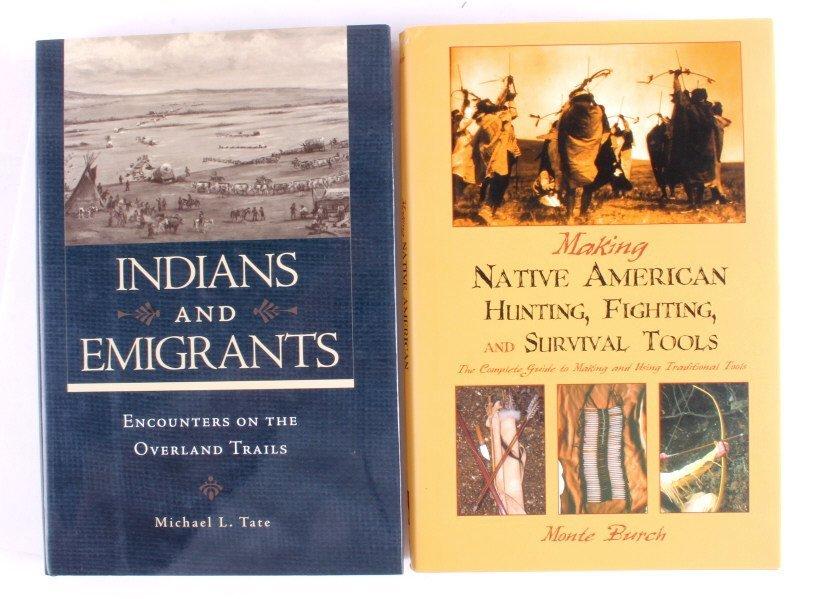 Native American Hardback Book Collection - 2