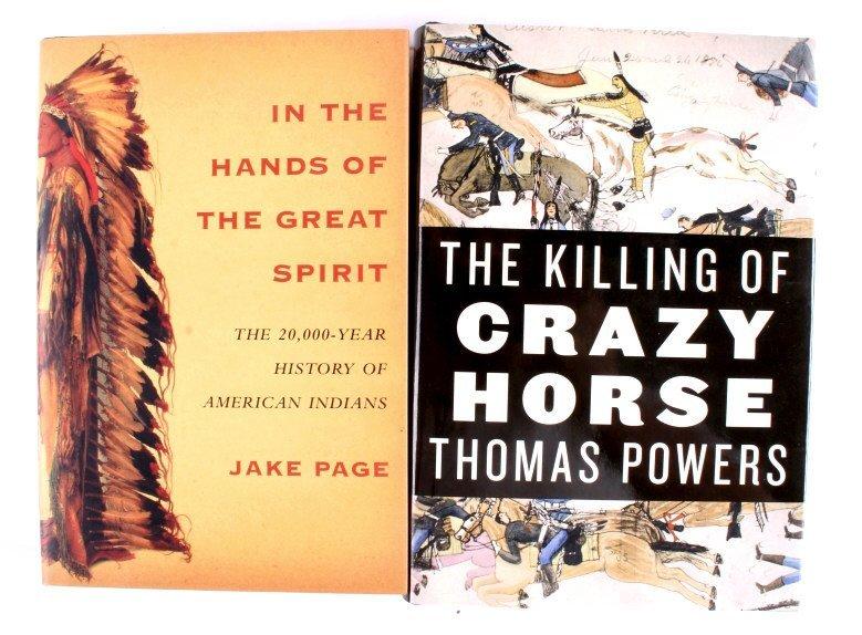 Native American Hardback Book Collection - 3