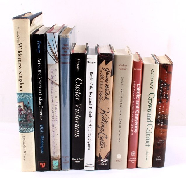 Native American Hardback Book Collection