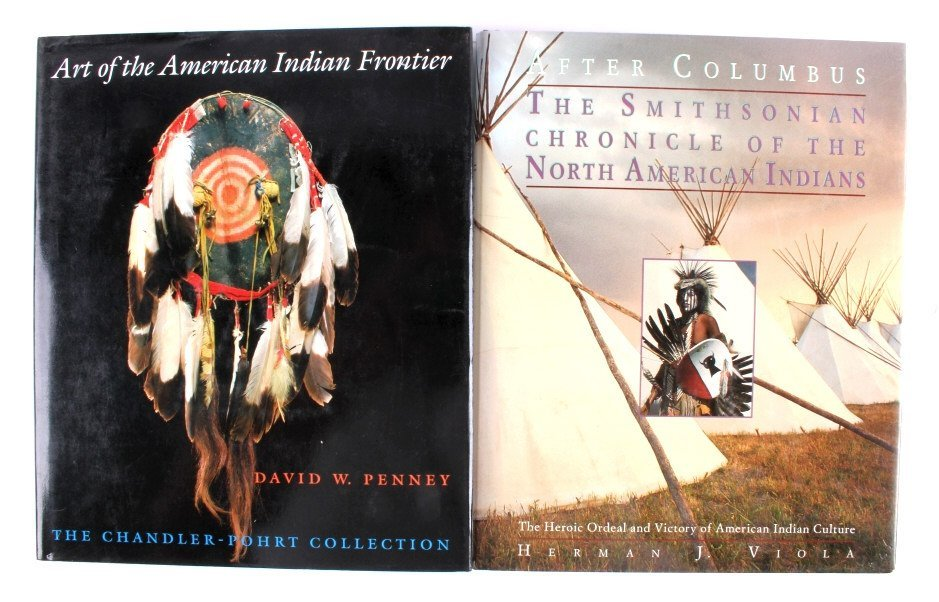 Native American Hardback Book Collection - 3