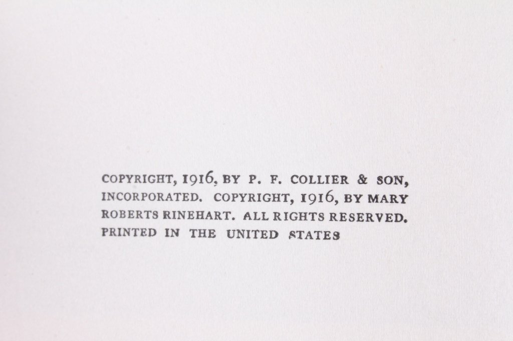 Mary Roberts Rinehart Book Collection - 5