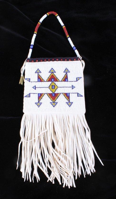 Plains Native American Document Bag
