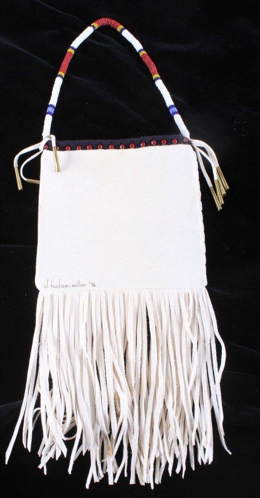 Plains Native American Document Bag - 5