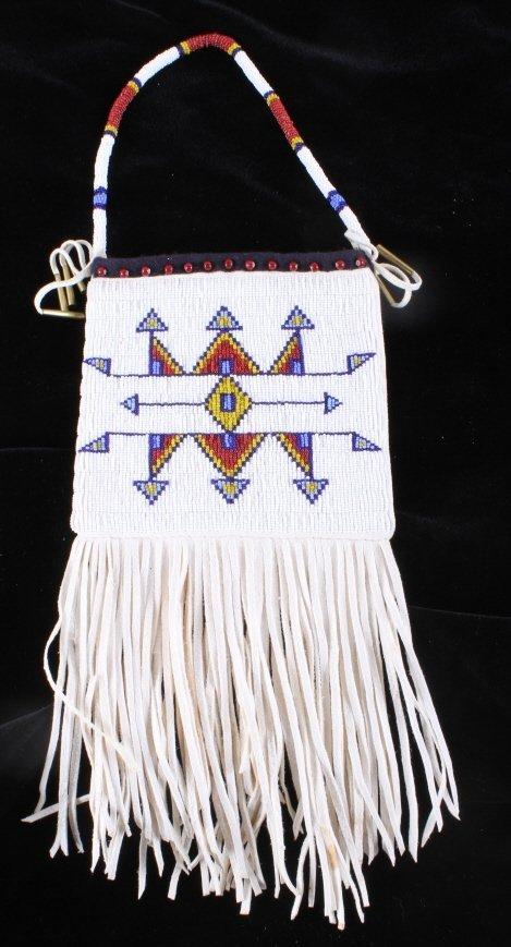 Plains Native American Document Bag - 7