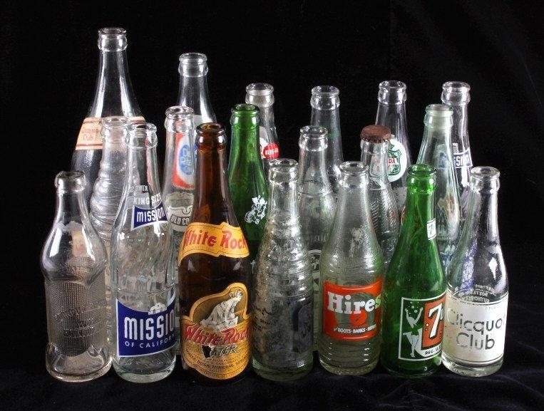 Vintage Soda Bottle Collection