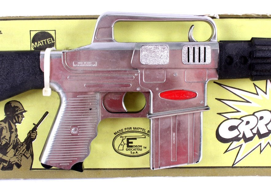 Mattel M-16 Toy Rifle with Caps - 2