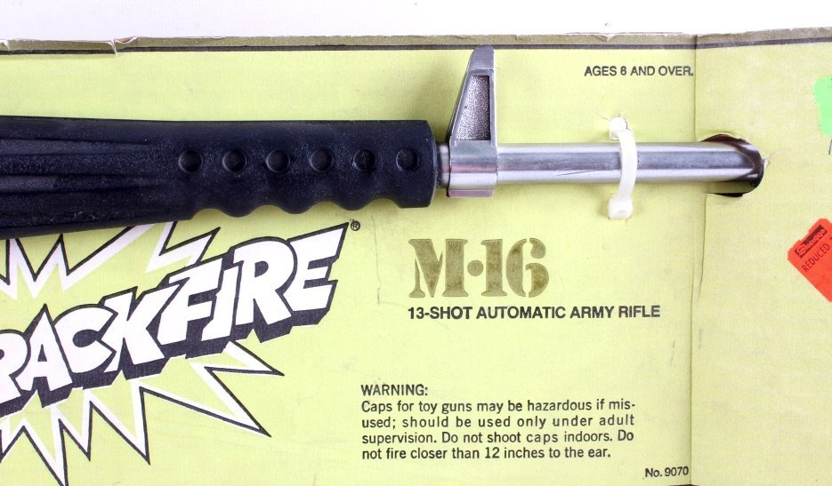 Mattel M-16 Toy Rifle with Caps - 3
