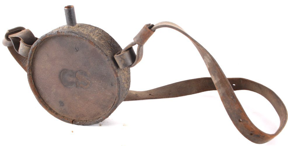 Early Theatre Replica Confederate States Canteen